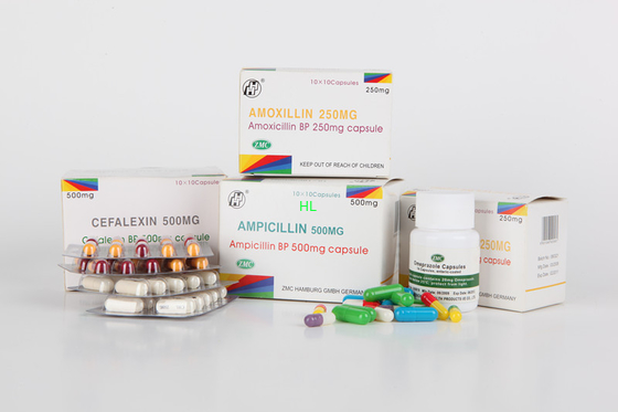 Porcellana L'ampicillina incapsula 250MG 500MG BP/le medicine penicilline di USP distributore