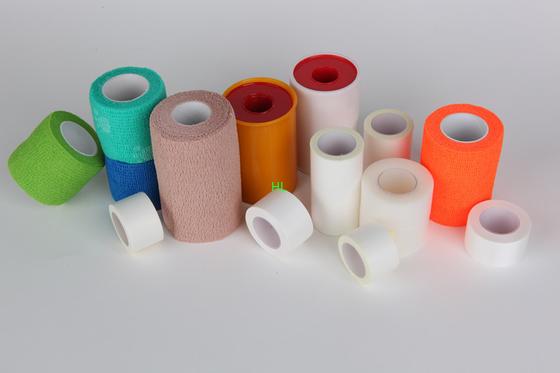 Porcellana Lunghezza medica 10m del nastro 5m della fasciatura del cerotto adesivo dell'ossido di zinco distributore